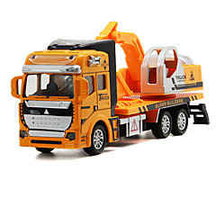 cheap Diecasts & Toy Vehicles-Truck Excavator Toy Truck Construction Vehicle Toy Car Die-Cast Vehicles 1:32 Metal Alloy Unisex Kid's Toy Gift
