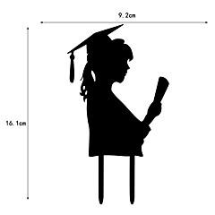 Decorações de Bolo Escola/Graduação Corações Com Bolsa PVS