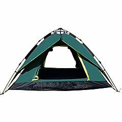3-4 osoba Šator Dvaput šator za kampiranje Jedna soba Pop up šator Otporno na vlagu Vodootporno Otporno na kišu za Kampiranje Outdoor