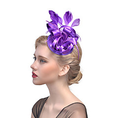 Χαμηλού Κόστους -συναρπαστικά κομμάτι μαλλιά κλιπ headpiece γάμο κόμμα κομψό θηλυκό στυλ