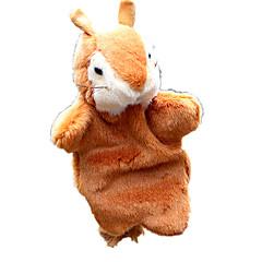 Puppen Fingerpuppe Spielzeuge Eichhörnchen Tiere Kind Stücke
