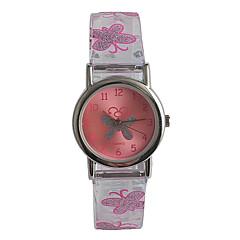 Copii Ceas La Modă Japoneză Quartz Japonez / Oțel inoxidabil Plastic Bandă Casual Pink
