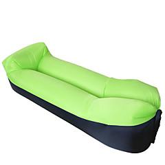 billiga Sovsäckar, madrasser och liggunderlag-Uppblåsbar soffa / Luftbädd / Luftmadrass Utomhus Camping Vattentät, Bärbar, Snabb uppblåsbar - / Polyester Taffeta Fiske, Strand, Camping för 1 person