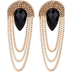 Drop Earrings Women's Girls' Euramerican  Rock Friendship Alloy Elegant Tassel Movie Jewelry Party Daily Business Earrings