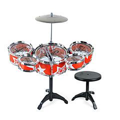 Rumpusetti Rakennustyökalut Toy Instruments Lelut Rumpusetti Jazz-rumpu Simulointi Muovit Materiaali Unisex Pieces