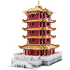 preiswerte -Robotime 3D - Puzzle Holzpuzzle Holzmodell Modellbausätze Turm Berühmte Gebäude Architektur 3D Heimwerken Holz Klassisch 6 Jahre alt und