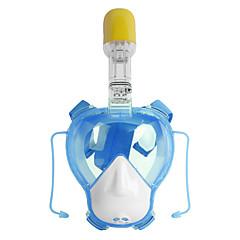 billiga Dykmasker, snorklar och simfötter-Dykmasker / Snorkelmask Anti-Dimma, Heltäckande ansiktsmasker, Under vattnet Två Fönster - Simmning, Dykning Silikon, Glas, pvc - för Barn