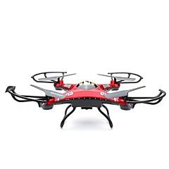billige Fjernstyrte quadcoptere og multirotorer-RC Drone JJRC H8D 6 Akse 2.4G Med HD-kamera 2.0MP 200 Fjernstyrt quadkopter Flyvning Med 360 Graders Flipp Fjernstyrt Quadkopter / Fjernkontroll / 1 Batteri Til Drone