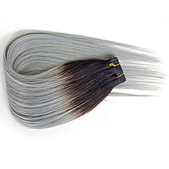 levne Příčesky z pravých vlasů-Lepící Rozšíření lidský vlas Volný Dámské Denní