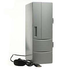 お買い得  USB ガジェット-ポータブルミニUSB PCラップトップ冷蔵庫クーラーミニUSB PC冷蔵庫暖かいクーラー飲み物飲み物缶冷凍庫