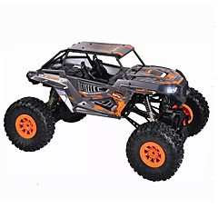 RCカー WL Toys 10428-E 2.4G ロッククライミングカー オフロードカー ハイスピード 4WD ドリフトカー バギー 1:10 18 KM / H リモートコントロール 充電式 エレクトリック