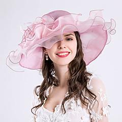 עור כיסוי ראש-חתונה אירוע מיוחד מסיבה\אירוע ערב קזו'אל קישוטי שיער כובעים חלק 1