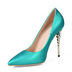 04cb6ca0fe6 Dámské Koženka Jaro Lodičky   Společenské boty Podpatky Vysoký úzký Palec  do špičky Světle fialová   Zelená   Modrá   Svatební   Party   Šaty   Party