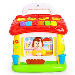 Vzdělávací hračka Příslušenství k domečku pro panenky Čtecí hračka Plast