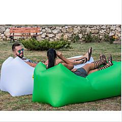 Χαμηλού Κόστους Υπνόσακοι και στρώματα κάμπινγκ-Φουσκωτός καναπές / Στρώμα αέρα / Φουσκωτή καρέκλα Εξωτερική Κατασκήνωση Αδιάβροχη, Φορητό, Υδατοστεγανό Σχεδιασμός-ιδανικό καναπέ Οξφόρδη Κατασκήνωση & Πεζοπορία, Παραλία, Ταξίδι για 1 άτομο