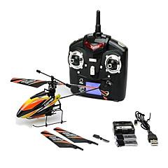 WL Toys V911 4CH 2.4G RC Uçak Uzaktan Kumanda/Verici 1 Helikopter 1 × Kullanım kılavuzu Piller