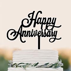 קישוטים לעוגה איכות גבוהה Party יום הולדת חתונה יומהולדת תיק PVC