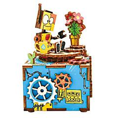 Puzzles Sets zum Selbermachen Holzpuzzle Bausteine Spielzeug zum Selbermachen Zeichentrick