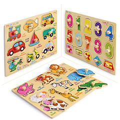 Vzdělávací hračka Puzzle Hračky Obdélníkový Dětské Chlapci Pieces