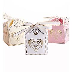 abordables Soportes para Regalo-Cúbico Papel de tarjeta Soporte para regalo  con Cintas Cajas de regalos Cajas de Regalos