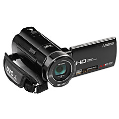 Muovi Videokamera Teräväpiirto Ulkoilu Kannettava Kosketusnäyttö