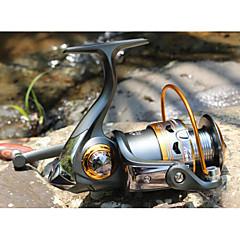 billiga Fiskerullar-Fiskerulle Bearing Snurrande hjul 5.2:1 11 Kullager utbytbar Sjöfiske Färskvatten Fiske Drag-fiske Generellt fiske Trolling & Båt Fiske-