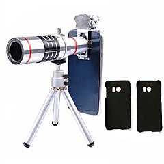 Lingwei 18x zoom samsung Kamera Teleobjektiv Weitwinkelobjektiv / Stativ / Telefonhalter / harter Fall / Beutel / Reinigungstuch (samsung