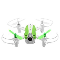billige Fjernstyrte quadcoptere og multirotorer-RC Drone Cheerson CX-17 4 Kanaler 6 Akse 2.4G Med HD-kamera 0.3MP 0.3 Fjernstyrt quadkopter FPV LED Lys En Tast For Retur Flyvning Med