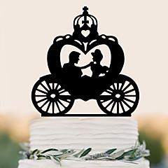 Taarttoppers Hoge kwaliteit Bruiloft Verjaardag Pvc-Bag