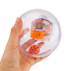 tanie Gry i puzzle-Zabawki antystresowe Piłeczki Zabawki do koszykówki Mini koszykówka na biurko Gadżety antystresowe Zabawki Zaokrąglanie Koszykówka Sport