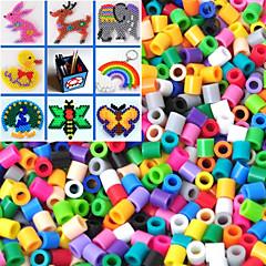 1000pcs cca 5mm amestecat margele margele margele Perler cu siguranțe HAMA diy materiale puzzle eva Safty pentru copii
