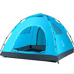billige Telt og ly-LINGNIU® 3-4 personer Telt Enkelt camping Tent Ett Rom Automatisk Telt Hold Varm Vanntett Ultraviolet Motstandsdyktig Solbeskyttelse