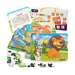 Bildungsspielsachen Holzpuzzle Spielzeuge Katze Eichhörnchen andere friut Unisex Stücke
