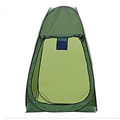 billige Telt og ly-LINGNIU® 1 person Telt Enkelt camping Tent To Rom Pop opp telt Hold Varm Vanntett Regn-sikker Solbeskyttelse Solkrem til Camping &