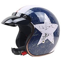 하프헬맷 튼튼한 미끄럼 방지 충격 방지 오토바이 헬멧