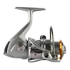 billiga Fiskerullar-Fiskerullar Snurrande hjul 5.0:1 Växlingsförhållande+11 Kullager Hand Orientering utbytbar Sjöfiske / Spinnfiske / Jiggfiske - SP3000