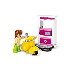tanie Klocki magnetyczne-Klocki Figurki z klocków Zabawy w odgrywanie ról Zamek Moto Dom Animals Dla dziewczynek Zabawki Prezent