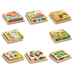 3D Puzzles Educational Toy Jigsaw Puzzle Toys Rabbit Cat Animals Animals Not Specified Children's Pieces