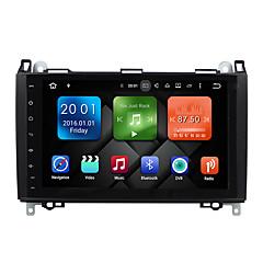 halpa DVD-soittimet autoon-9 tuuman quad core android 6.0.1 auto multimedia ääni gps-soitin järjestelmä ei dvd 2gb ram rakennettu wifi&3g ex-tv dab varten Benz