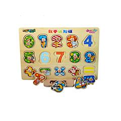 Bildungsspielsachen Holzpuzzle Spielzeuge andere Zahl friut Unisex Stücke