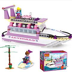 tanie Klocki magnetyczne-Klocki Statek Fun & Whimsical Dla dziewczynek Zabawki Prezent