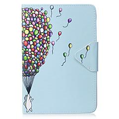 baratos -Caso para ipad mini 1 2 3 mini capa 4 capa padrão de balão material de PU triplo tablet pc caso caso de telefone