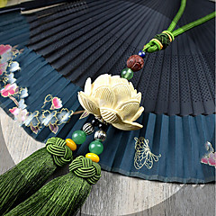 DIY autóipari medálok lótusz áldja meg a békét kiváló minőségű sztereó dekoráció buxus sinica folyamatos levél zöld dupla rózsa autó