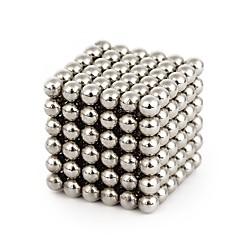 Kit Faça Você Mesmo Brinquedos Magnéticos Ímã de Terras Raras Super Forte Blocos magnéticos Bolas magnéticas Alivia Estresse 64 Peças 4mm