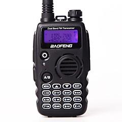 billige Walkie-talkies-BAOFENG Håndholdt Programmeringskabel / Programmerbar med datasoftware / Lader og adapter 5-10 km 5-10 km 5 W Walkie Talkie Toveis radio