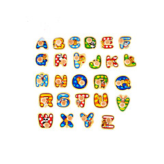3D Puzzles Jigsaw Puzzle Toys Number Letter 3D Not Specified Pieces