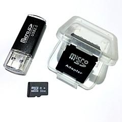 baratos Cartões de Memória-32GB TF cartão Micro SD cartão de memória class10 AntW5-32