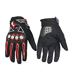 tanie Rękawiczki motocyklowe-Pełny palec Unisex Rękawice motocyklowe Włókno węglowe Wodoodporny / Zatrzymujący ciepło / Oddychający