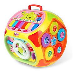 교육용 장난감 장난감 악기 장난감 원형 별 카툰 플라스틱 하드 플라스틱 조각 키드 남여 공용 선물
