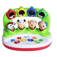 tanie Instrumenty dla dzieci-Zabawka edukacyjna Oyuncak Müzik Aleti Kwadrat Instrumenty muzyczne Zwierzę Owalny Animals Dla dzieci Dla obu płci